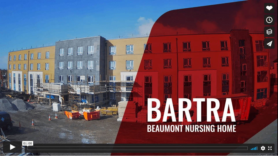 Beaumont Nursing Home construction timelapse