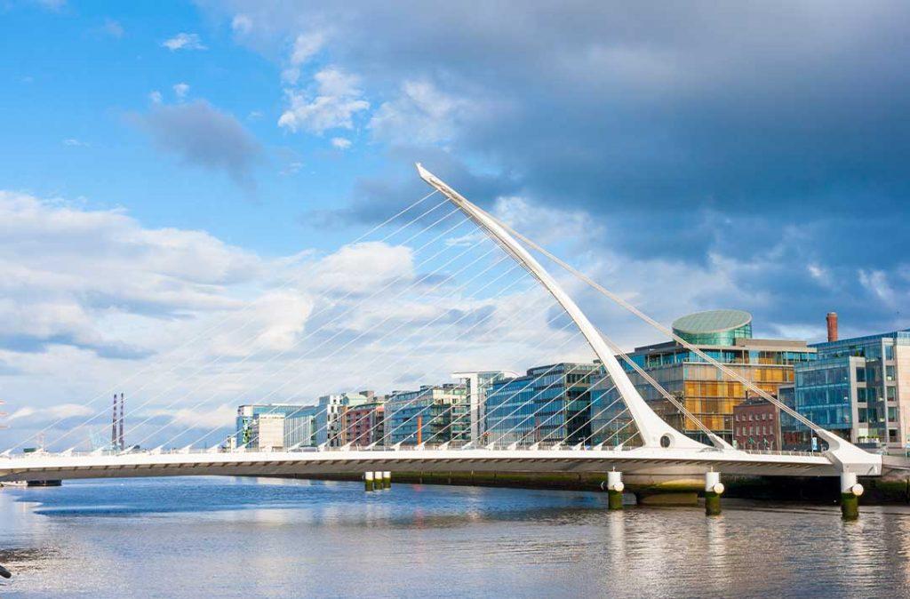 Ireland-Job-Market_Finance-District-at-Dublin
