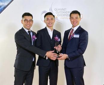 Bartra Wealth Advisors honoured at the Quamnet Outstanding Enterprise Awards 2020